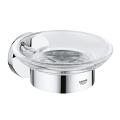 Essentials Soap dish with holder 40444 001