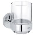 Essentials Crystal glass with holder 40447 001