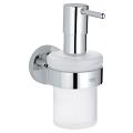 Essentials Soap dispenser with holder 40448 001