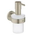 Essentials Soap dispenser with holder 40448 EN1