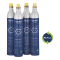 GROHE Blue Refill 425 g CO2 bottles (4 pieces) 40687 000