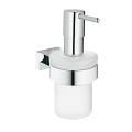 Essentials Cube Soap dispenser with holder 40756 001