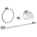 Essentials Master bathroom accessories set 4-in-1 40776 001