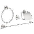 Essentials Set accessori bagno 4-in-1 40776 DC1
