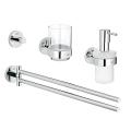 Essentials Master bathroom accessories set 4-in-1 40846 001