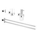 Essentials Cube Bathroom accessories set 4-in-1 40847 001