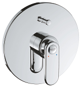 Veris Single-lever bath/shower mixer 19344 000