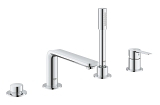 Lineare 4-hole bath combination 19577 001