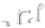 Eurostyle Four-Hole Roman Bathtub Faucet with Handshower 19991 004