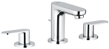 Eurosmart Cosmopolitan Three-hole basin mixer 1/2