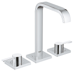 Allure Three-hole basin mixer 1/2