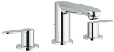 Eurostyle Cosmopolitan Three-hole basin mixer S-Size 20208 002