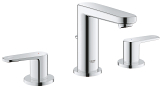 Europlus Three-hole basin mixer 1/2