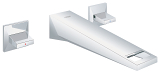 Allure Brilliant 3-hole basin mixer 1/2
