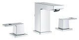 Eurocube Three-hole basin mixer 1/2
