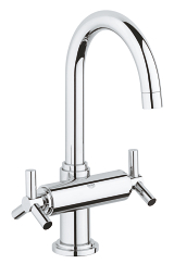 Atrio Single-hole basin mixer 1/2