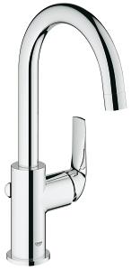 BauCurve Single-lever basin mixer 1/2
