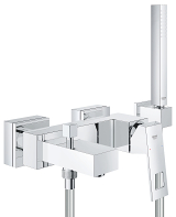 Eurocube Single-lever bath/shower mixer 23141 000