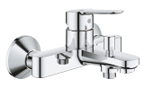 BauEdge Single-lever bath/shower mixer 23605 000