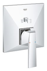 Allure Brilliant Single-lever mixer with 2-way diverter 24072 000