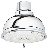 Tempesta Rustic 100 Head shower 4 sprays 26045 001