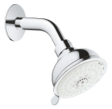 Tempesta Rustic 100 Head shower set 4 sprays 26089 001