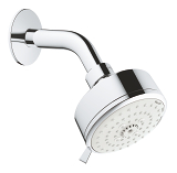 Tempesta Cosmopolitan 100 Head shower set 3 sprays 26090 001