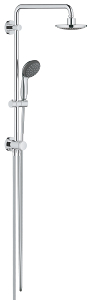 Vitalio Start 160 Shower system with diverter  for wall mounting 26226 000