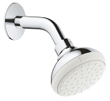 New Tempesta 100 Head shower 1 spray 26267 001