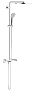 Euphoria System 310 Shower system with thermostatic mixer for wall mounting 26384 001