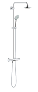Euphoria System 180 E Shower system with thermostat for wall mounting 26418 000