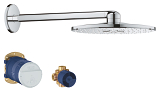 Rainshower SmartActive 310 Shower Head Set 2 Sprays 26502 000