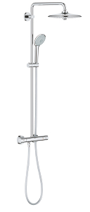 Euphoria System 260 Shower system with thermostat for wall mounting 26515 000