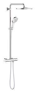 Rainshower SmartActive 310 Shower system with thermostat for wall mounting 26647 000