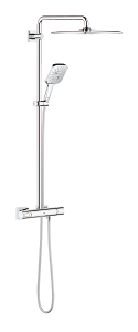 Rainshower SmartActive 310 Shower system with thermostat for wall mounting 26652 000