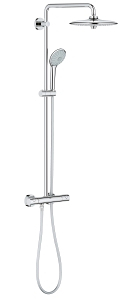 Euphoria System 260 Shower system with Safety Mixer for wall mounting 27296 002