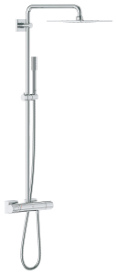 Rainshower F-Series System 254 Shower system with Safety Mixer for wall mounting 27469 000