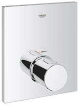 Grohtherm F Set de finition thermostatique centrale 27619 000