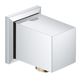 Allure Brilliant Shower outlet elbow, 1/2