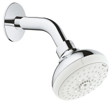 New Tempesta 100 Head shower set 4 sprays 27870 001
