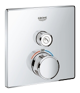 Grohtherm SmartControl Thermostat for concealed installation with one valve 29123 000