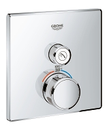 Grohtherm SmartControl Single Function Thermostatic Trim with Control Module 29140 000