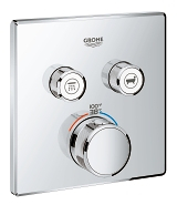 Grohtherm SmartControl Dual Function Thermostatic Trim with Control Module 29141 000