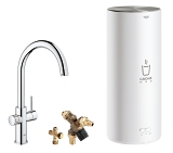 GROHE Red Duo Robinet et chauffe-eau taille L 30031 001