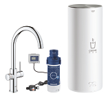 GROHE Red Duo Faucet and L size boiler 30079 001