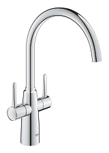 Ambi Two handle sink mixer 1/2