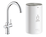 GROHE Red Duo Robinet + Chauffe-eau taille M 30374 001
