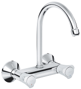 Costa L Wall sink mixer 1/2