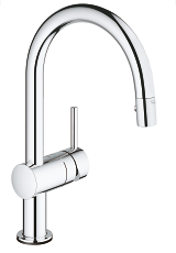 Minta Touch Electronic single-lever sink mixer 1/2