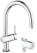 Minta Touch Pull-Down Kitchen Faucet with Touch Technology 31392 000